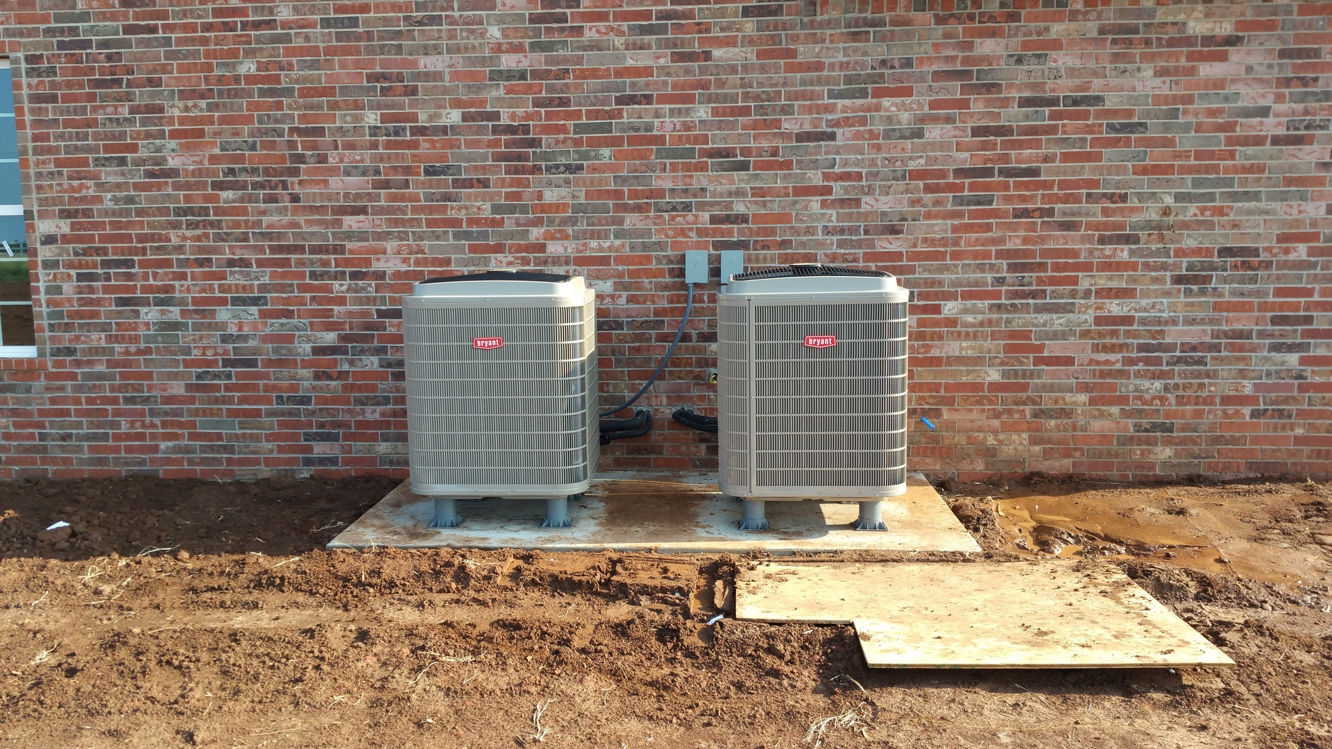 20 SEER Heat Pump New Installation